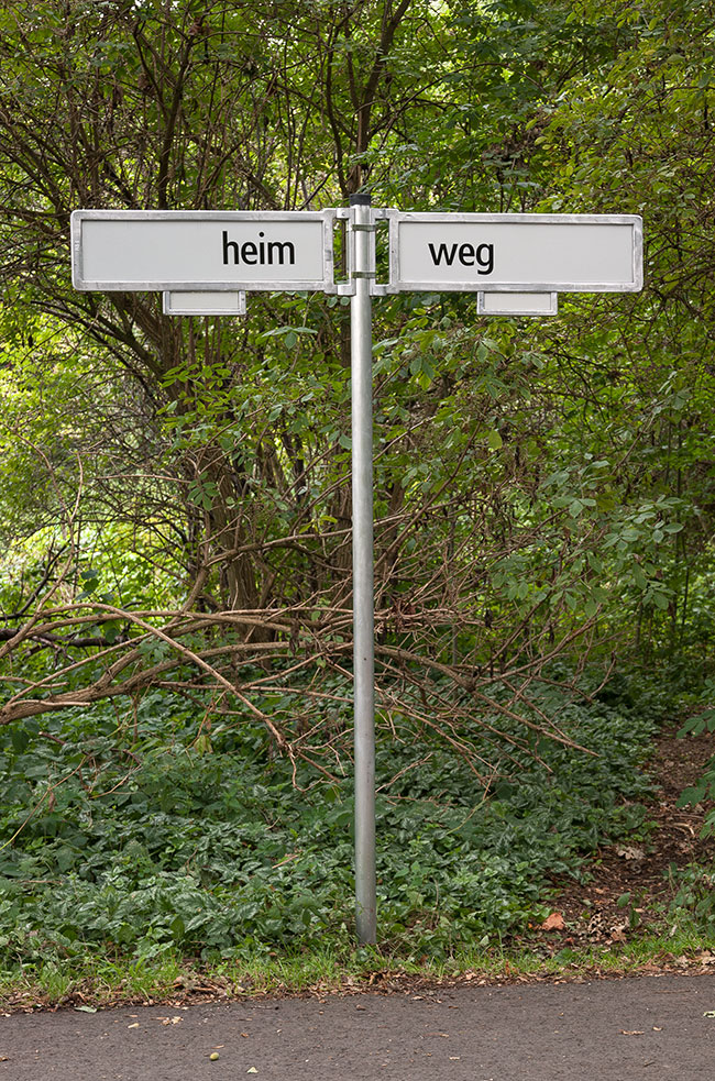 Installation HEIM / WEG, 2015